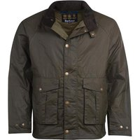 Barbour Mens Willum Wax Jacket Archive Olive Large