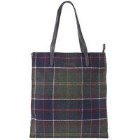 Barbour Womens Tain Tartan Shopper Bag Classic Tartan One