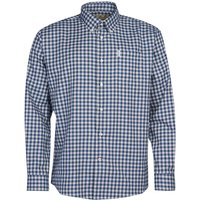 Barbour Mens Thornley Thermo Weave Shirt Navy Medium