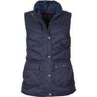 Barbour Womens Kingston Gilet Navy Check 16