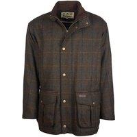 Barbour Mens Woolsington Wool Coat Olive Large