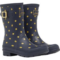 Joules Womens Molly Mid Height Printed Welly AW20  6 (EU39)