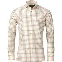 Laksen Mens Abraham Shirt Green/Red/Spicy Medium