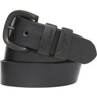 R.M. Williams Mens Drover Belt Black/Black 32