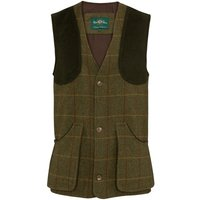 Alan Paine Mens Rutland Shooting Waistcoat Oak Small