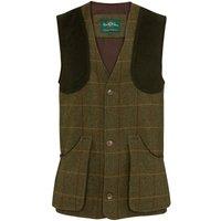 Alan Paine Mens Rutland Shooting Waistcoat Oak Medium