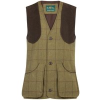 Alan Paine Mens Rutland Shooting Waistcoat Lichen XL