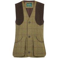 Alan Paine Mens Rutland Shooting Waistcoat Lichen Small