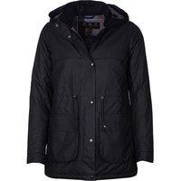 Barbour Womens Cassley Wax Jacket Black/Modern 8