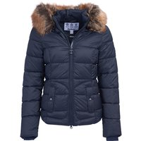 Barbour Womens Dover Quilted Jacket Dark Navy 10