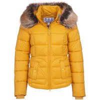 Barbour Womens Dover Quilted Jacket Ochre 10