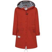 Lazy Jacks Womens LJ67 Long Line Raincoat Autumn Orange XS