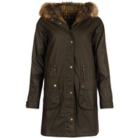 Barbour Womens Mull Wax Jacket Olive/Classic 8