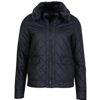 Barbour Womens Glencoe Wax Jacket Black/Modern 16