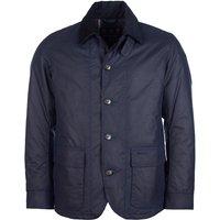 Barbour Mens Hortal Wax Jacket Royal Navy XXL