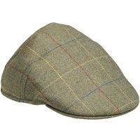 Laksen Mens Balmoral Tweed Cap Woodhay Tweed 60cm (7 1/2)