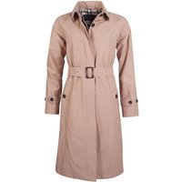 Barbour Womens Findhorn Jacket Light Trench/Oatmeal Tartan 8