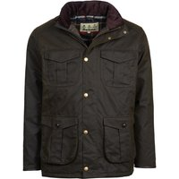 Barbour Mens Latrigg Wax Jacket Olive Large