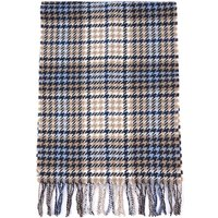 Barbour Womens  Barmack Houndstooth Tartan Scarf Tempest Trench