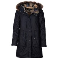 Barbour Womens Mull Wax Jacket Navy/Dress 14
