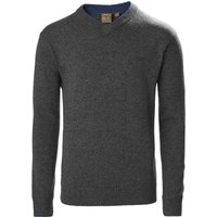 Musto Mens Country V-Neck Knit Charcoal M