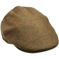 Laksen Mens Balmoral Tweed Cap Firle Tweed 62cm (7 3/4)