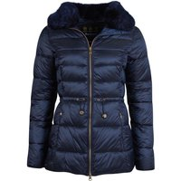 Barbour Womens Angus Quilted Jacket Dark Navy 18