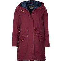 Barbour Womens Perthshire Jacket Garnet/Navy 10