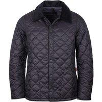 Barbour Mens Heritage Liddesdale Quilt Jacket Black Large