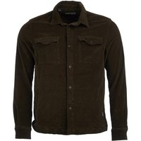 Barbour Mens Cord Overshirt Olive XL