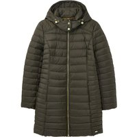 Joules Womens Canterbury Long Padded Coat Heritage Green 18