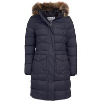 Barbour Womens Guanay Quilted Jacket Dark Navy 8