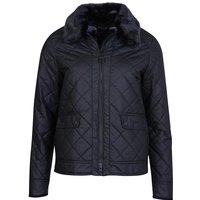 Barbour Womens Glencoe Wax Jacket Black/Modern 8