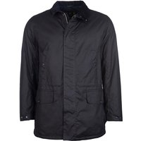 Barbour Mens Hafden Wax Jacket Black Small