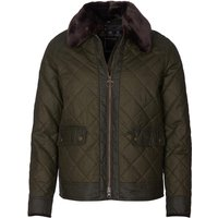 Barbour Womens Glencoe Wax Jacket Archive Olive/Classic 8