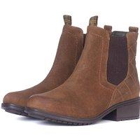 Barbour Womens Rimini Boots Brown Suede 8 (EU42)