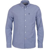 Barbour Mens Gingham 10 Tailored Shirt Inky Blue XXL