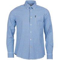 Barbour Mens Gingham 11 Tailored Shirt Blue XXL