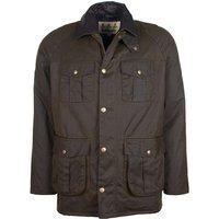 Barbour Mens Hebden Wax Jacket Olive XL