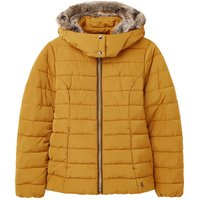 Joules Womens Cassington Padded Coat Golden 12