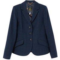 Joules Womens Milford Tweed Jacket Navy Tweed 12