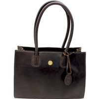 Hicks and Hides Womens Chedworth Cartridge Handbag Brown