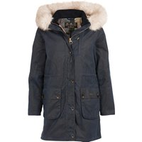 Barbour Womens Nightingale Wax Jacket Navy / Dress 16