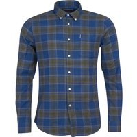 Barbour Mens Highland Check 41 Tailored Shirt Navy XXL