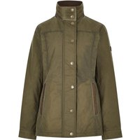 Dubarry Womens Mountrath Wax Jacket Dusky Green 12