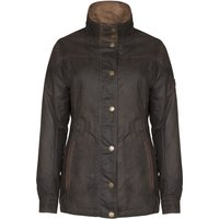 Dubarry Womens Mountrath Wax Jacket Olive 10