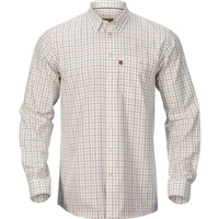 Harkila Mens Retrieve Shirt Burgundy Check XXL