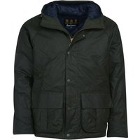 Barbour Mens Horrow Wax Jacket Forest Large