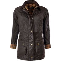 Barbour Womens Beadnell Wax Jacket Rustic 16