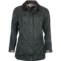 Barbour Womens Beadnell Wax Jacket Sage 8